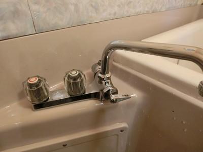 現状回復 ハウスクリーニング 浴室 汚部屋 水垢