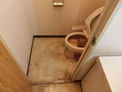 現状回復 トイレ カルキ 尿石 汚れ 悪臭
