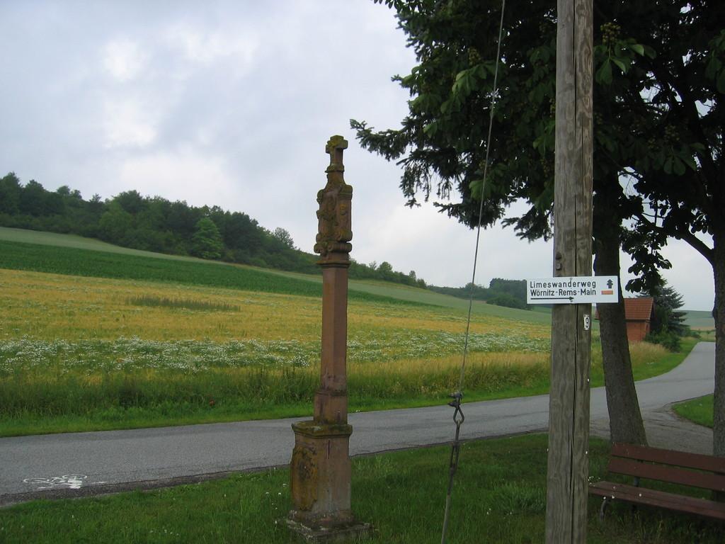Limeswanderweg Wörnitz - Rems - Main