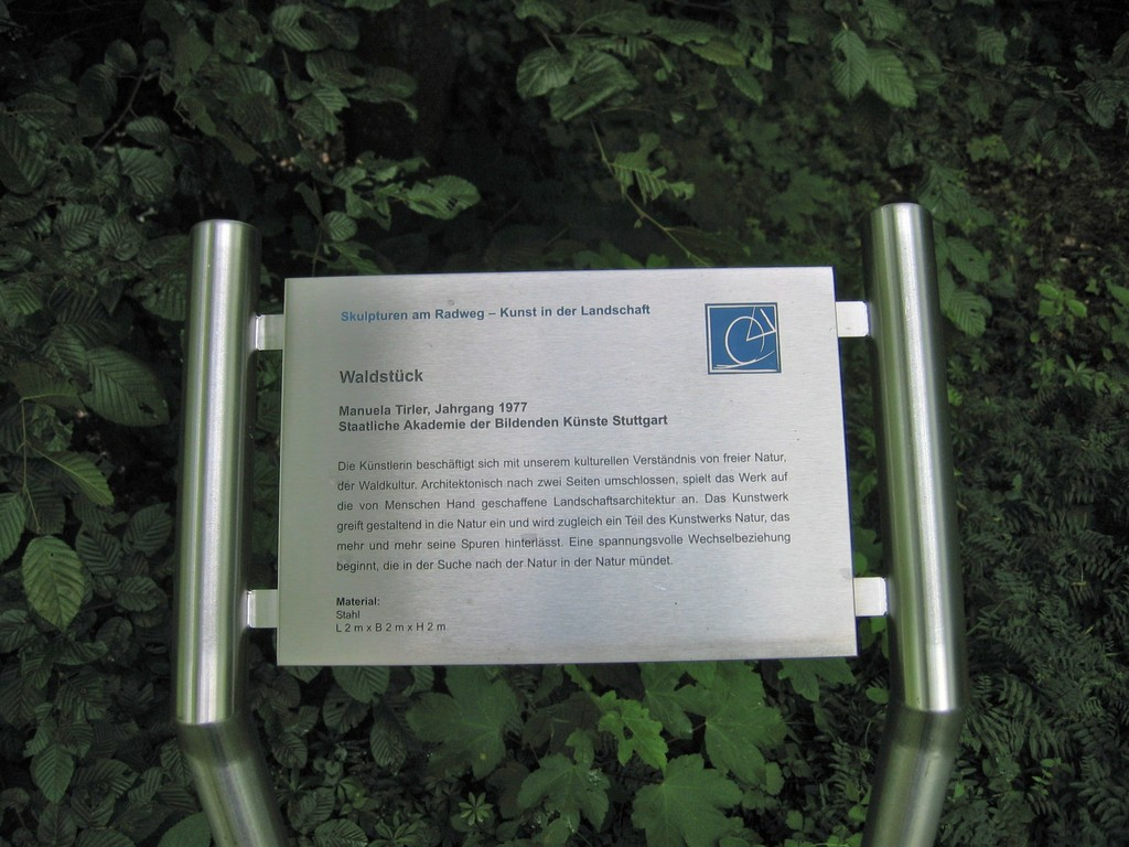 Skulpturen am Radweg/Limeswanderweg - Kunst in der Landschaft