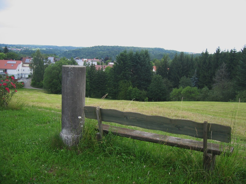 Limesmeilenstein bei Mainhardt