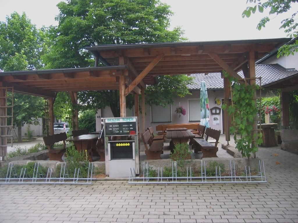 Limeswanderer-Tankstelle hat Ruhetag