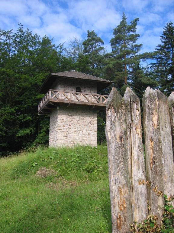 Nachbau Wachtturm WP 9/83 am Heidenbuckel