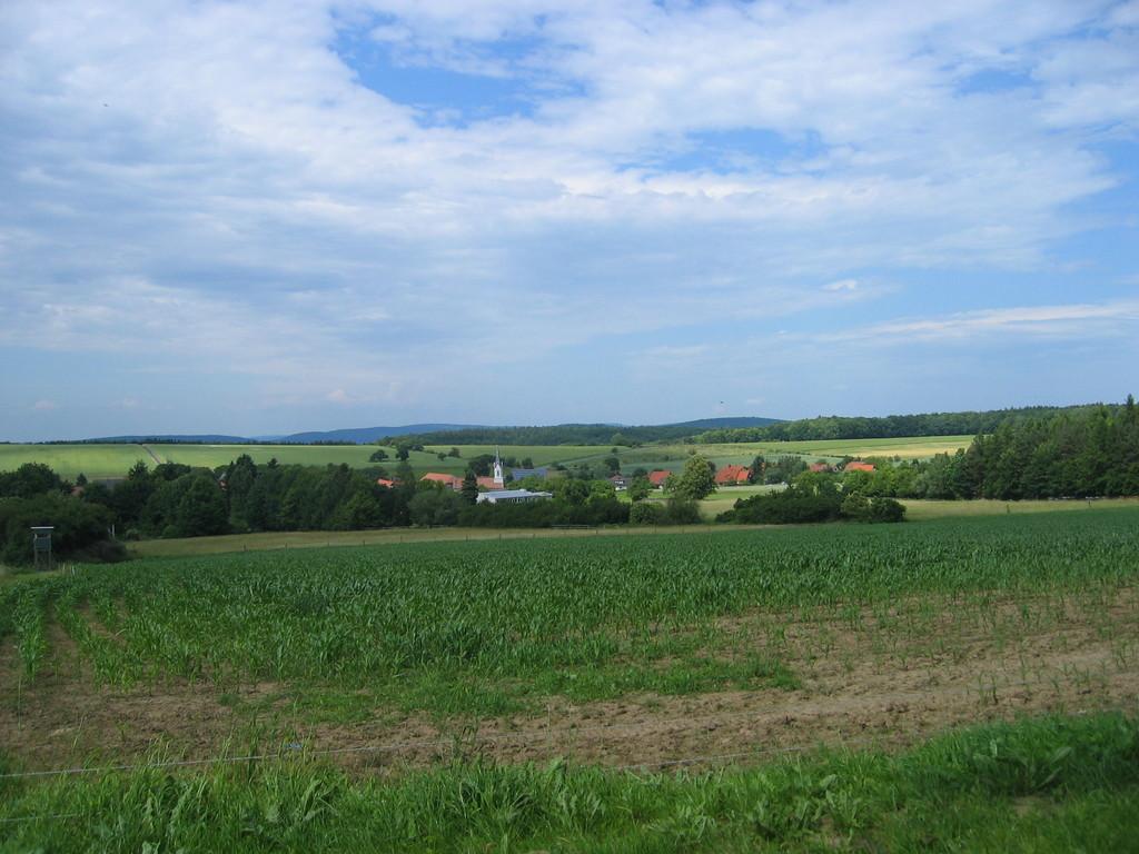 Wenschdorf und Monbrunner Höhe