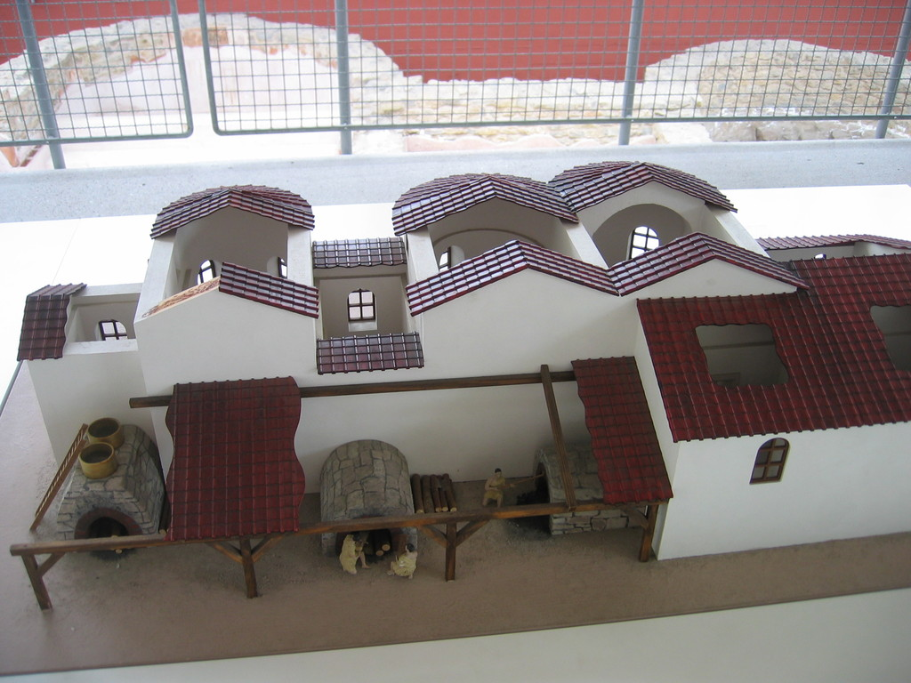 Modell vom Kastellbad