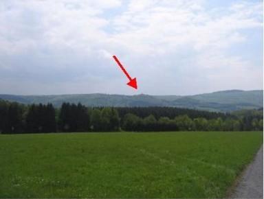 Großer Kopf, Stefansturm, Arzbach (roter Pfeil)