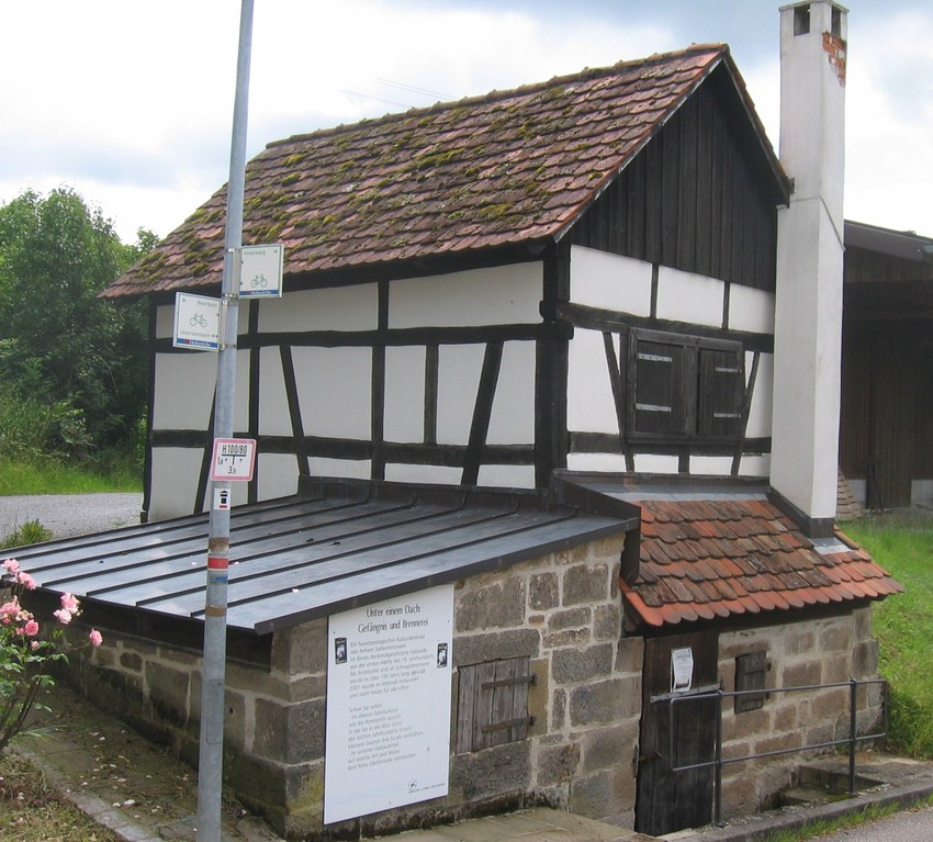 Brennerei und Ortsgefängnis in Harsberg