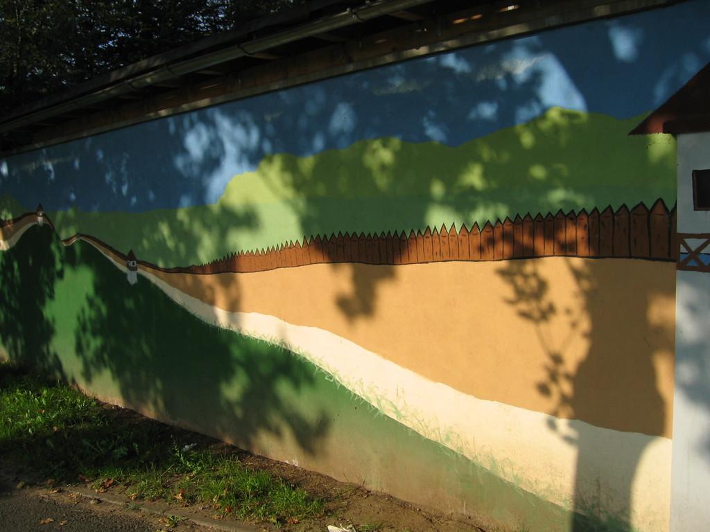 Limeskindergartenmauer