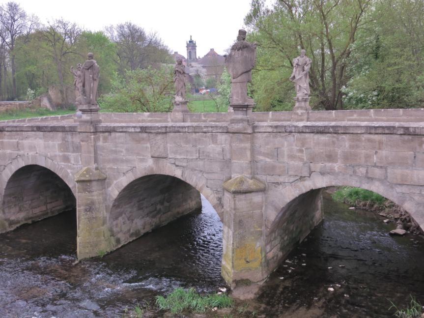 Rezat-Brücke in Ellingen