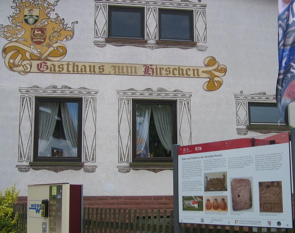 """""""Essen und Trinken in der römischer Provinz""""  (aber heute ist Ruhetag)"""