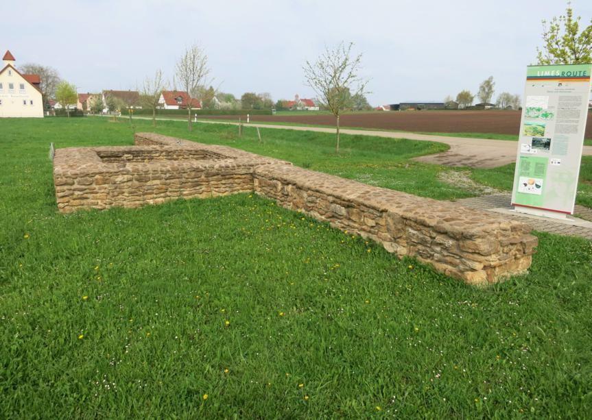 Teufelsmauer und WP 13/41 bei Kleinlellenfeld