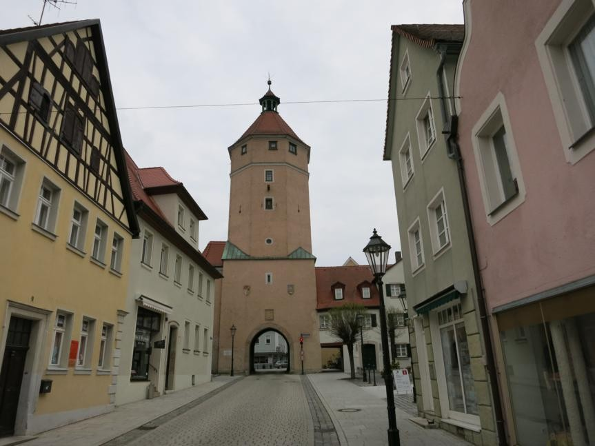 Stadttor in Gunzenhausen