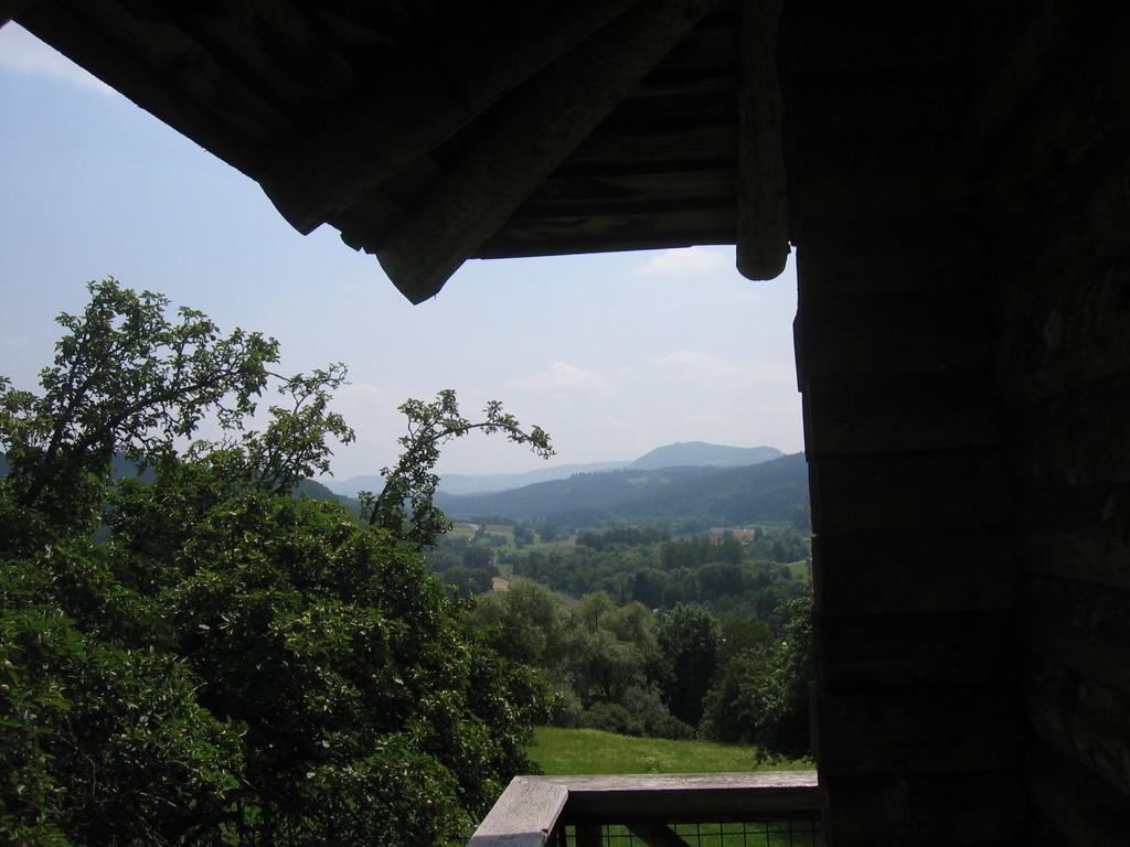 Ausblick auf dem Wachtturm