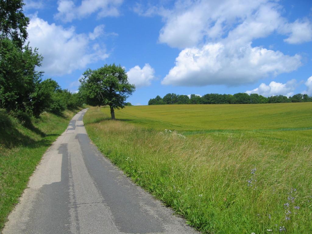 Weg nach Oberkessach