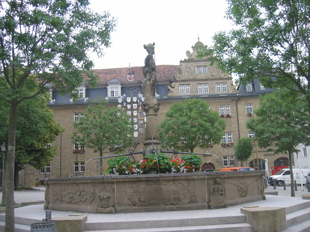 Marktplatz in Öhringen