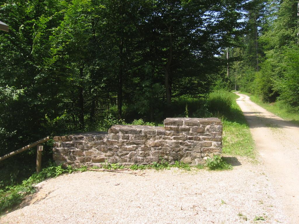 Provinzgrenze im Rotenbachtal zwischen Obergermanien und Rätien