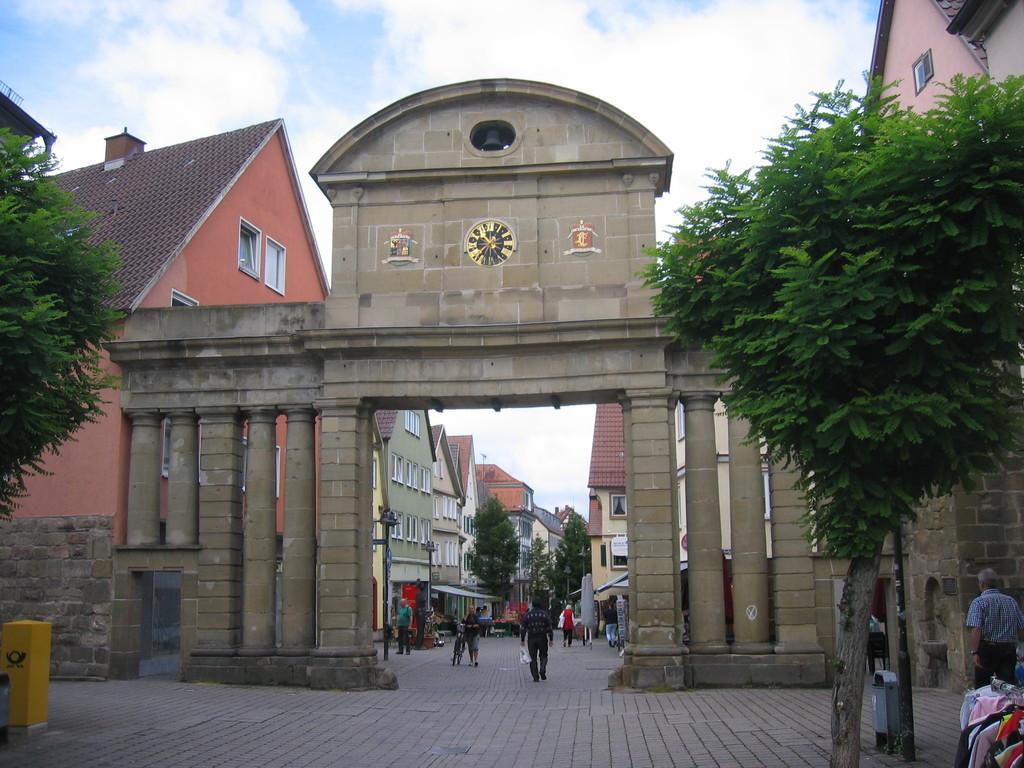 Stadttor in  Öhringen
