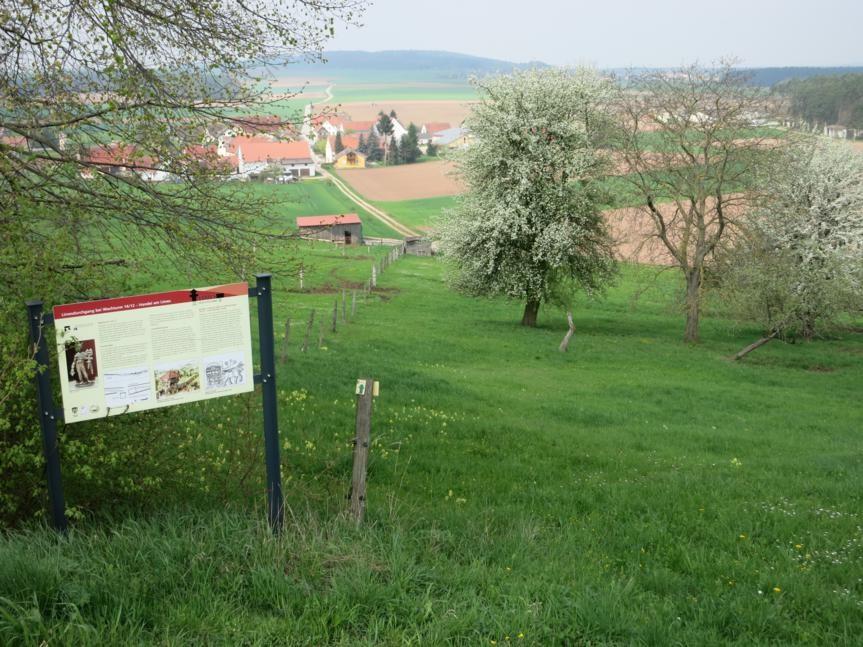 Blick zurück auf Gundelshalm