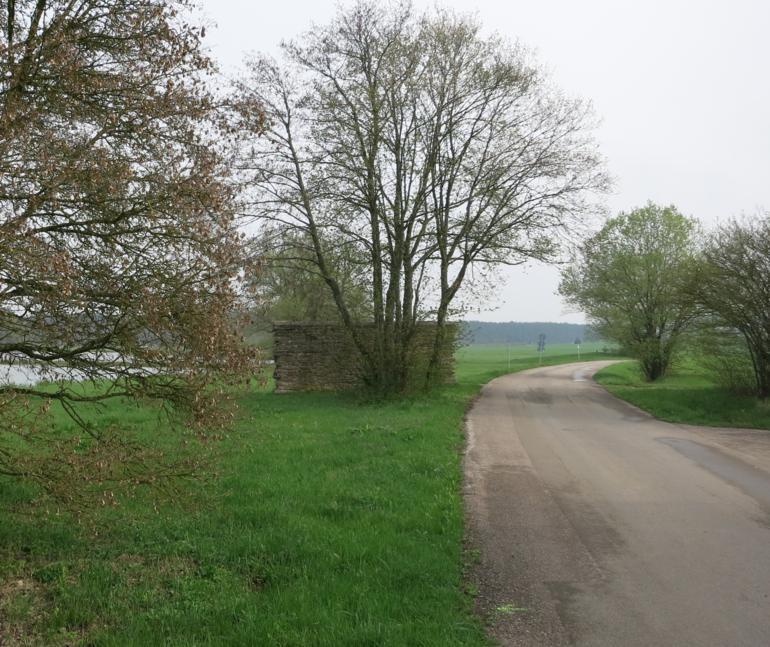 Teufelsmauer am Dennenloher Stausee