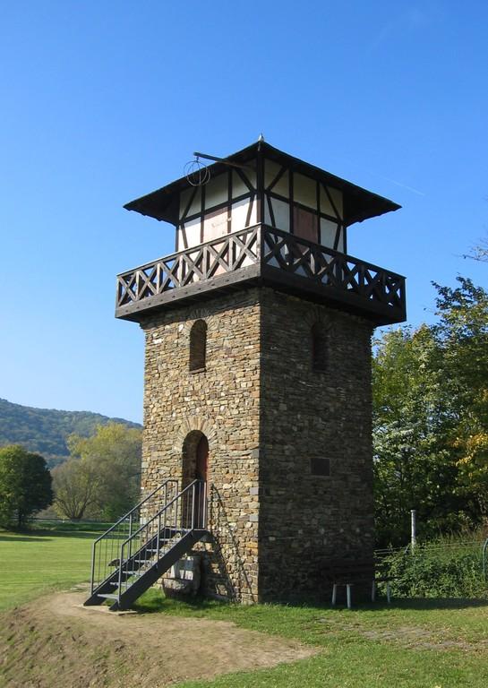 Römerwachtturm (Wachtposten) WP 1/1 bei Rheinbrohl