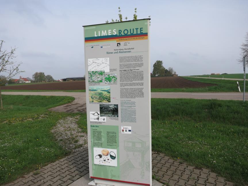 Info-Stele Kleinlellenfeld