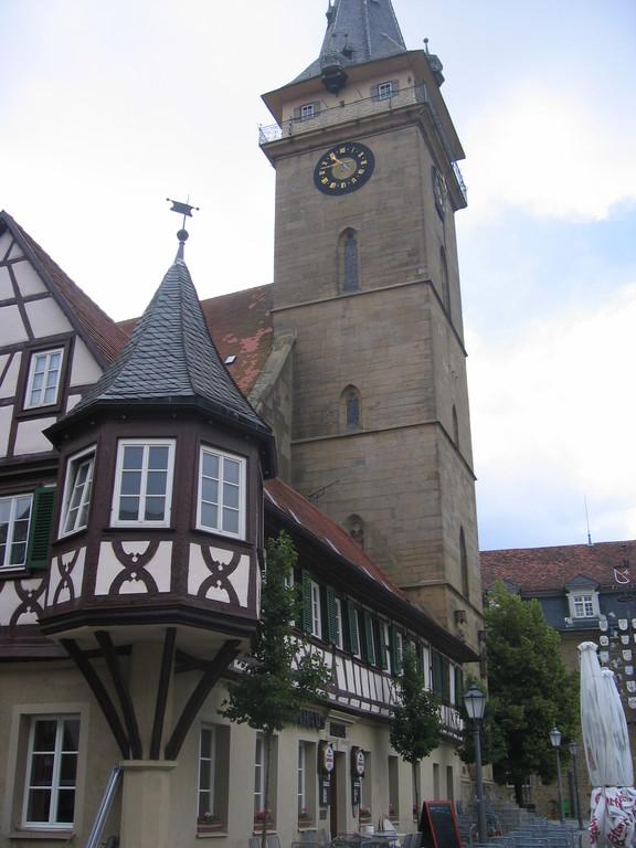 am Marktplatz Öhringen