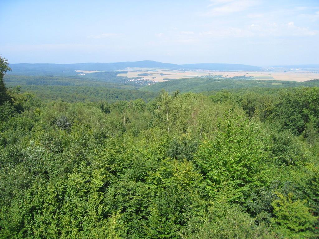 Ausblick Richtung Butzbacher Senke (nördliche Wetterau)