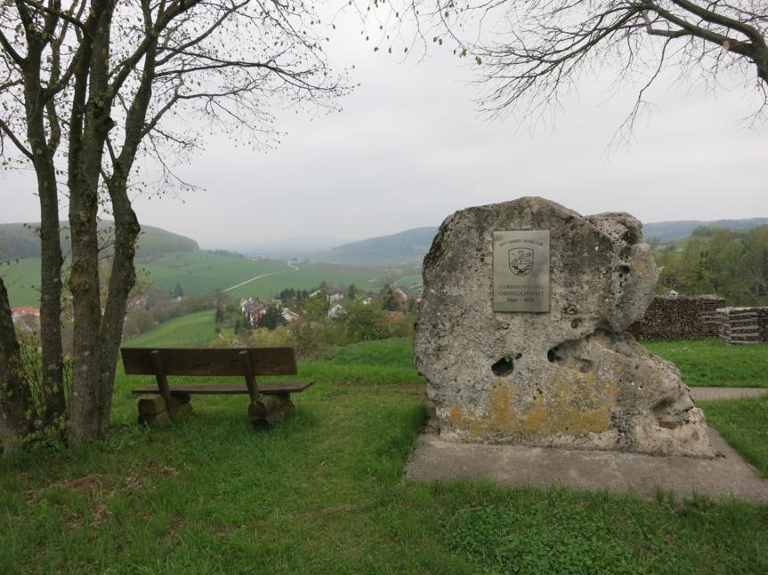 Blick von Oberhochstadt nach Weissenburg (heute nicht)