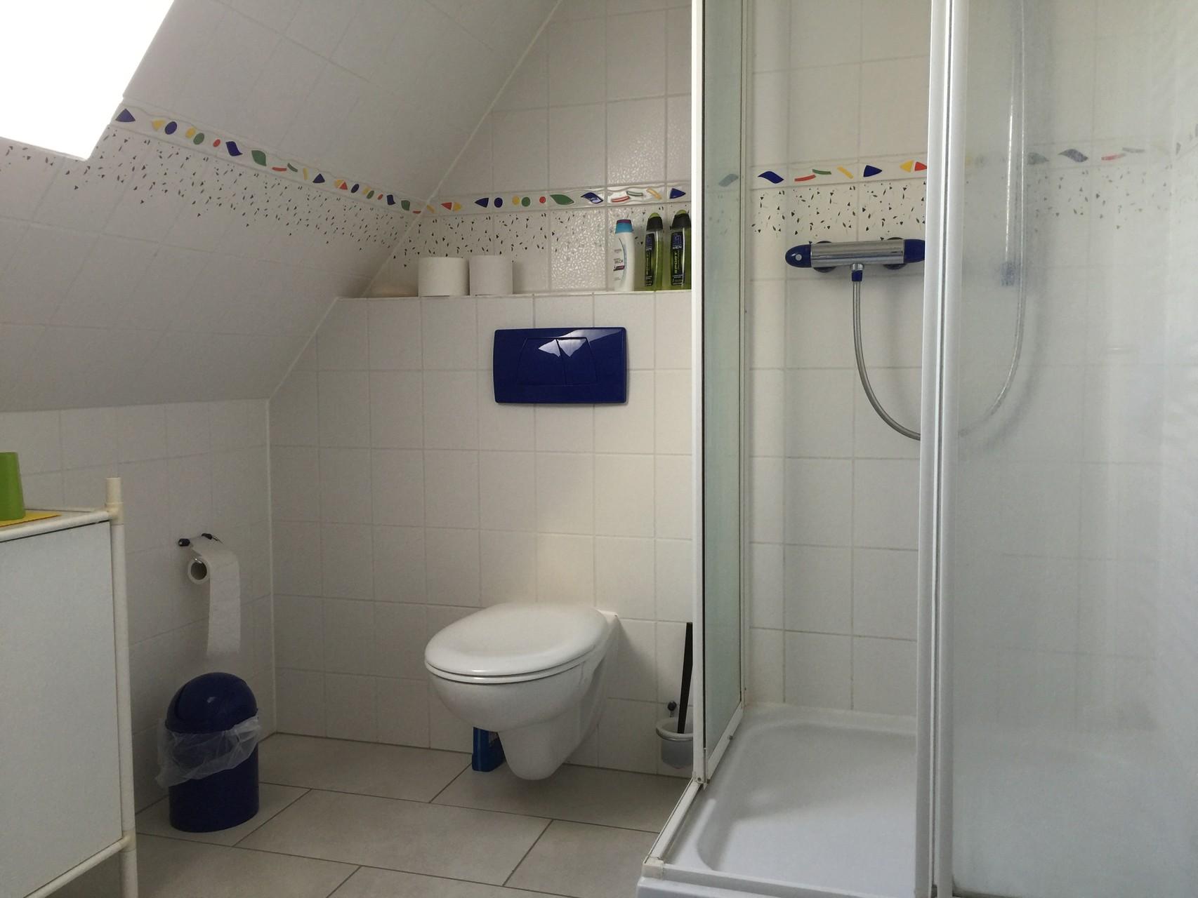 Badezimmer Blaues und Studiozimmer