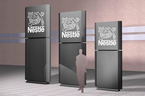 Kleine witzige Animation zu Nestlé Signage