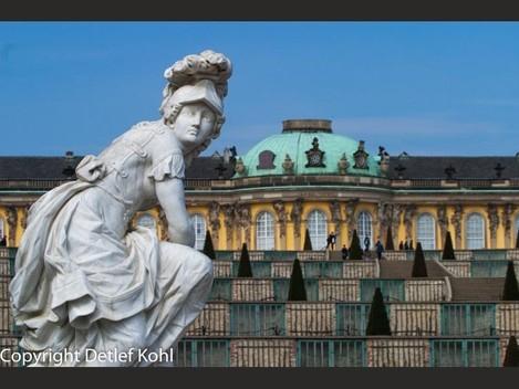 Fotodokumentation Schlösser und Gärten Preussens ‒ Park Sans-souci in Potsdam