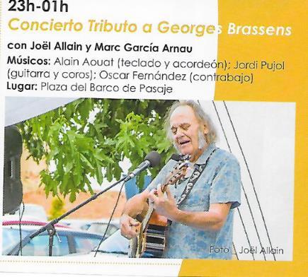 concierto tributo à georges brassens