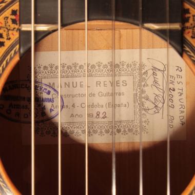 Manuel Reyes 1982 - Guitar 2 - Photo 2