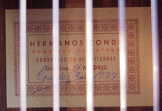 Hermanos Conde 1977 - Guitar 1 - Photo 7