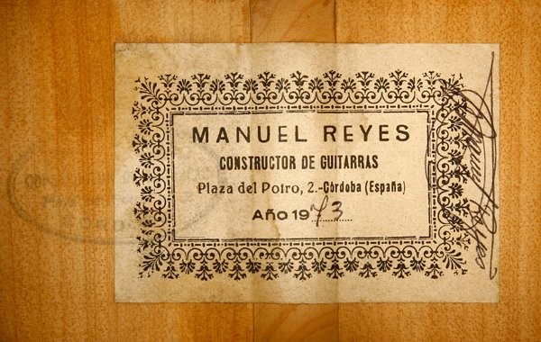 Manuel Reyes 1973 - Guitar 1 - Photo 6