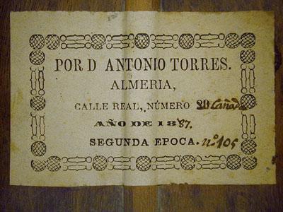 Antonio de Torres 1887 - Guitar 1 - Photo 3