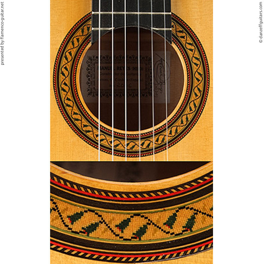 MANUEL REYES HIJO | GUITAR  GITARRE | 2006  | ROSETTES ROSETTEN