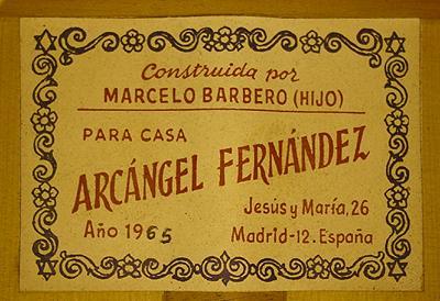 Marcelo Barbero Hijo 1965 - Guitar 1 - Photo 4