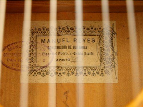 Manuel Reyes 1970 - Guitar 5 - Photo 6