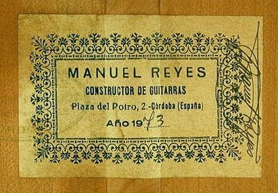 Manuel Reyes 1973 - Guitar 1 - Photo 5