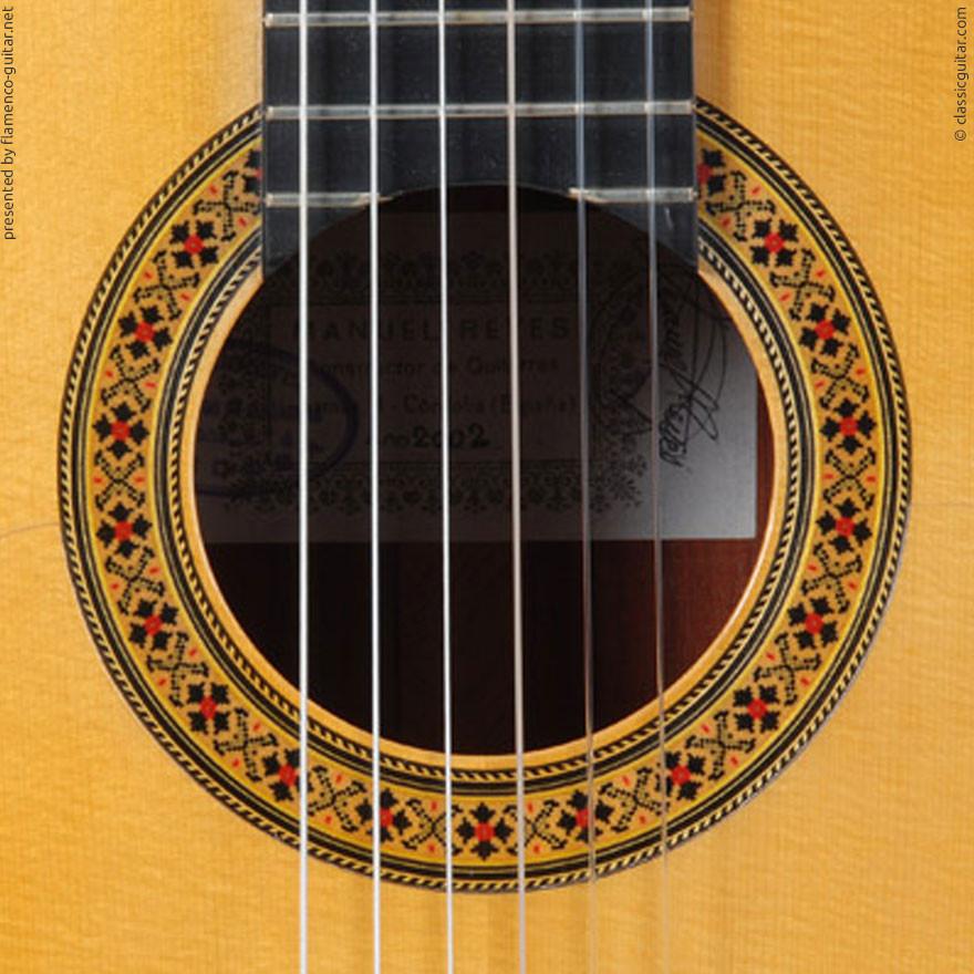 MANUEL REYES HIJO | GUITAR  GITARRE | 2002  | ROSETTES ROSETTEN