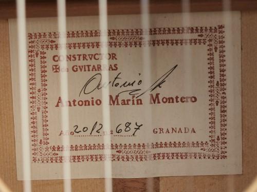 Antonio Marin Montero 2012 - Guitar 3 - Photo 4