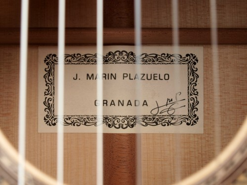 Jose Marin Plazuelo 2011 - Guitar 1 - Photo 4