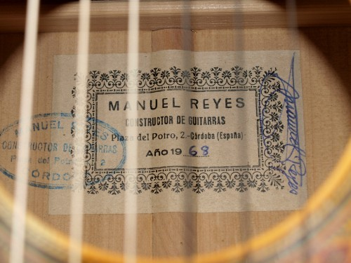 Manuel Reyes 1968 - Guitar 1 - Photo 8