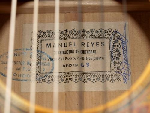 Manuel Reyes 1968 - Guitar 1 - Photo 8