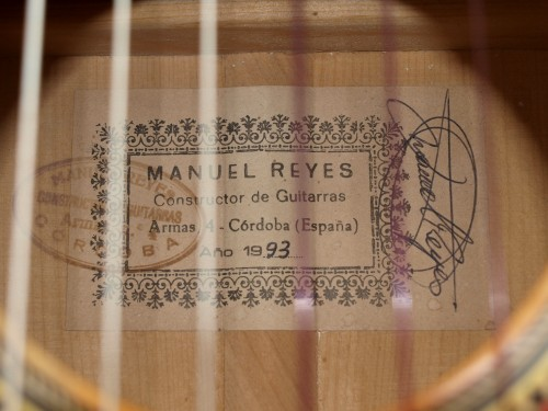 Manuel Reyes 1993 - Guitar 3 - Photo 7