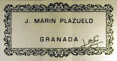 Jose Marin Plazuelo 2001 - Guitar 1 - Photo 5