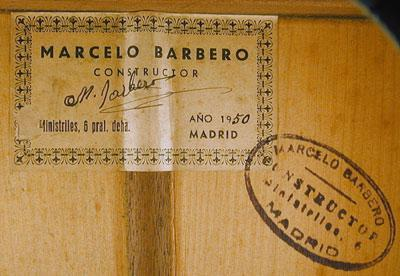 Marcelo Barbero 1950 - Guitar 1 - Photo 2