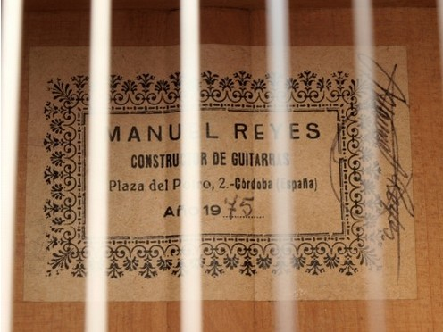 Manuel Reyes 1975 - Guitar 1 - Photo 6