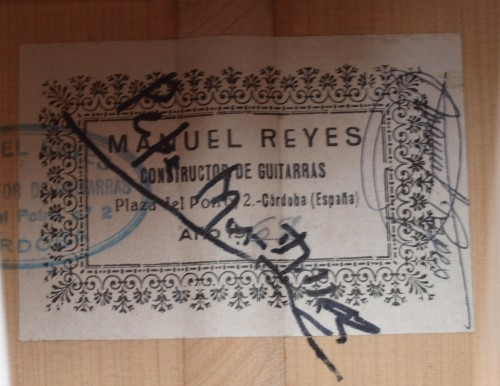 Manuel Reyes 1969 - Guitar 1 - Photo 4